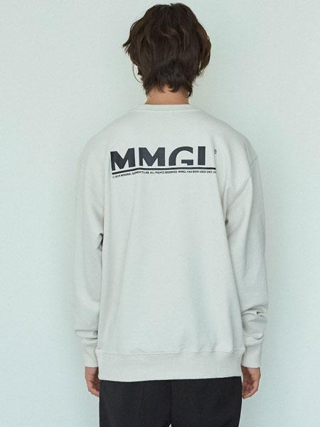 MMGL国际品牌品牌2019秋冬MMGL标志930运动衫(银灰色)