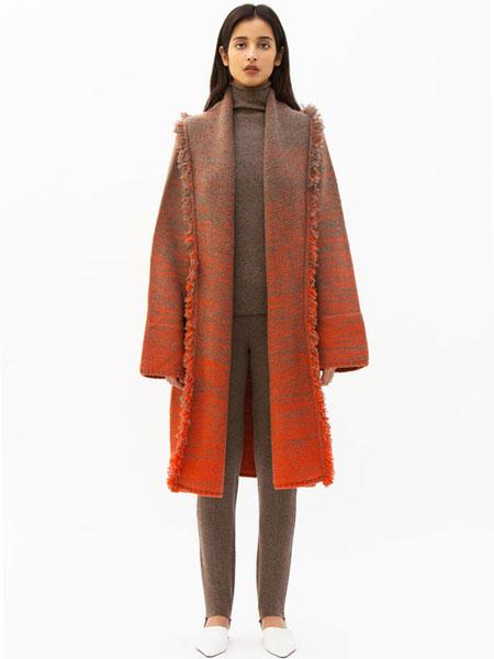 Mandkhai国际品牌品牌2019秋冬皮条大衣