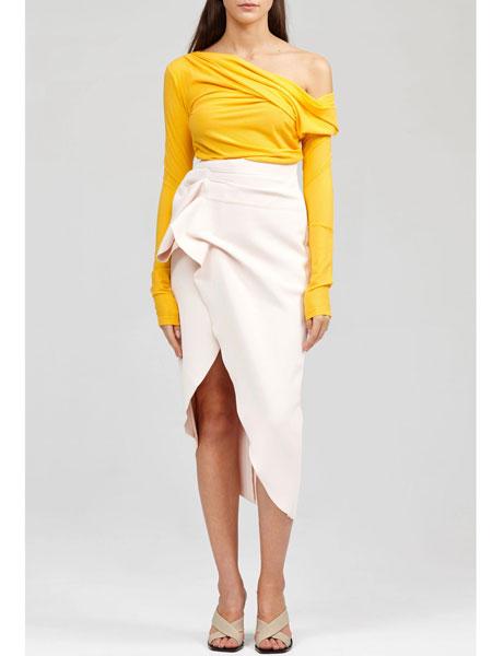 Acler国际品牌品牌2020春夏曼罗夫短裙