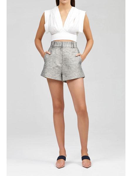 Acler国际品牌品牌2020春夏戴维森短裤