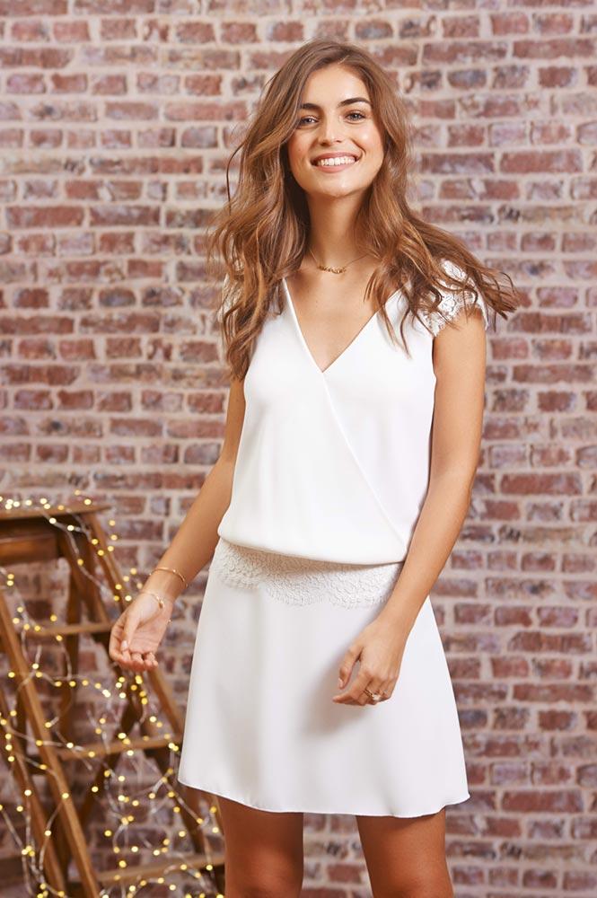 Fabienne Alagama国际品牌品牌2020春夏新款简洁纯色显气质连衣裙