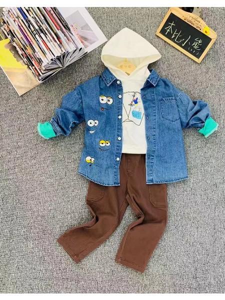 童装  本比小熊春款系列 品牌折扣童装折扣货源
