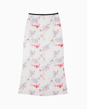 Mame kurogouchi国际品牌品牌2020春夏花卉印花半身裙-粉色