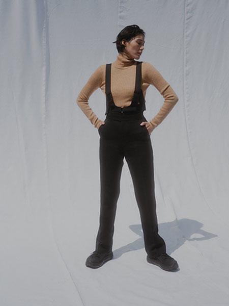 FUMIKA_UCHIDA国际品牌品牌2019秋冬新款薄棉吊带裤