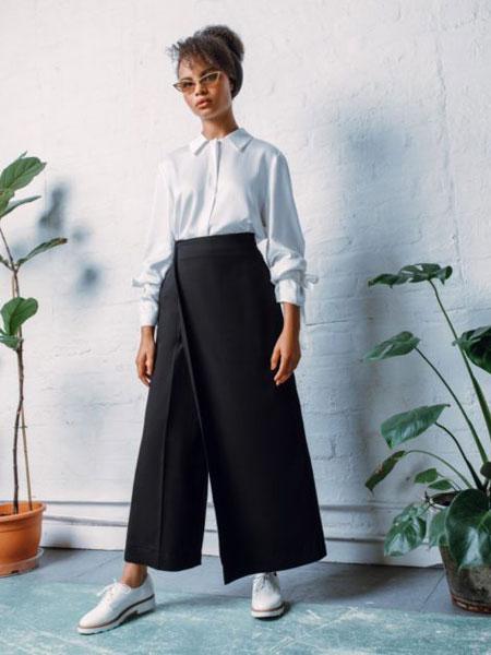 StaSa国际品牌品牌2020春夏新款饰板长裤