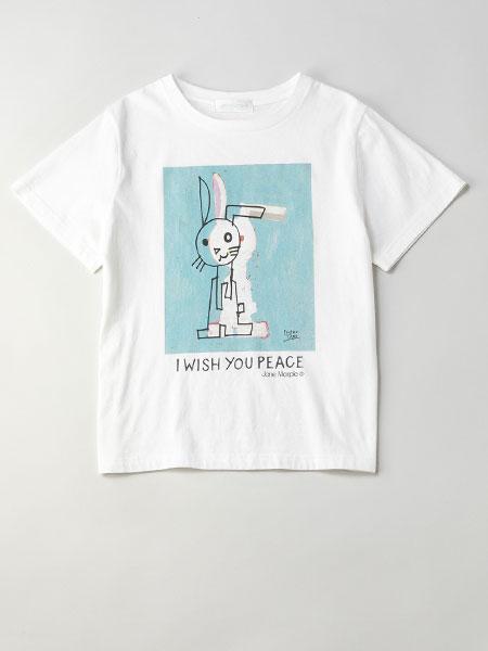 Jane Marple国际品牌品牌2020春夏新款图案简洁短袖上衣