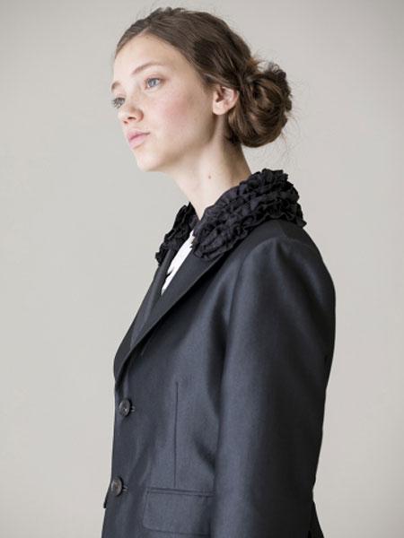Jane Marple国际品牌品牌2020春夏珠宝蕾丝长袍上衣