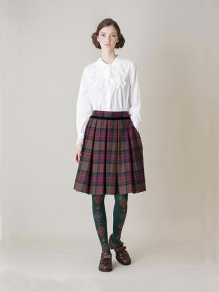 Jane Marple国际品牌品牌2020春夏皇家游行刺绣上衣