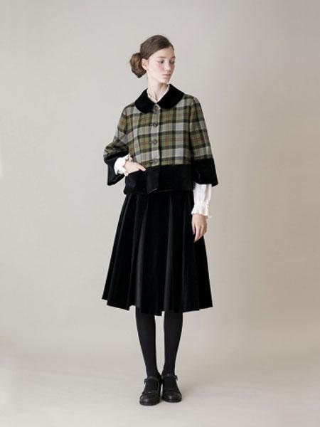 Jane Marple国际品牌品牌2020春夏皇家游行开衫