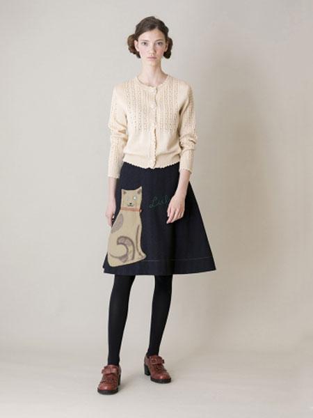 Jane Marple国际品牌品牌2020春夏婴儿针织bolero开衫