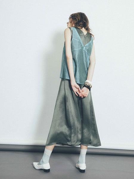 1/2 Un Demi国际品牌品牌2020春夏新款纯色无袖上衣