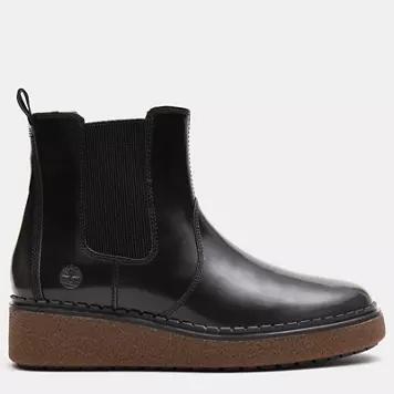 Timberland国际品牌品牌Bluebell Lane切尔西女式长筒靴,灰色