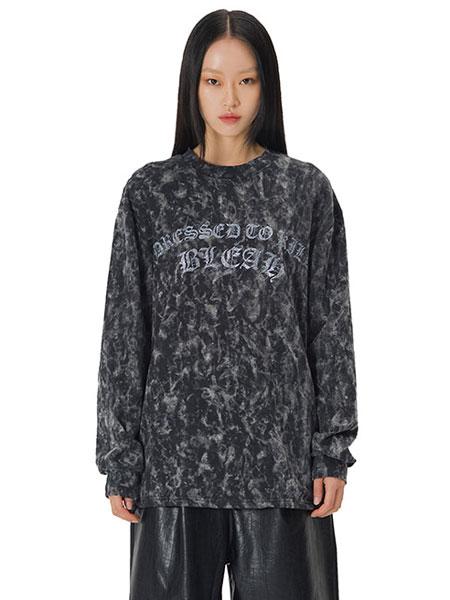 Curetty国际品牌品牌2020春夏C女孩印花SWEAT恤 黑色