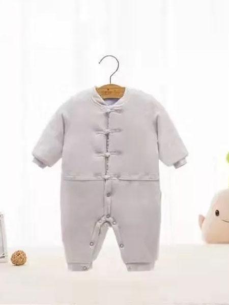 素芽soeioe童装品牌2019秋冬新款小童纽扣薄棉保暖衣