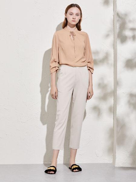 你即永恒女装品牌2020春夏新款真丝长袖衬衫