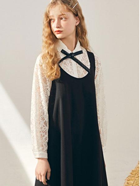 夺宝奇兵女装品牌2020春夏新款纯色吊带连衣裙