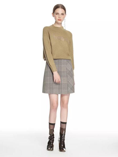 拍普儿女装品牌2020春夏新款纯色印字长袖卫衣