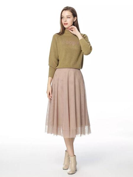 拍普儿女装品牌2020春夏新款毛呢印字长袖卫衣