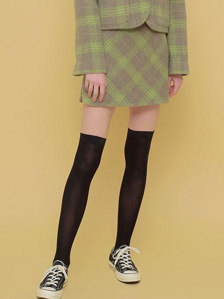 Margarin Fingers国际品牌品牌2020春夏扇贝开SLIT裙