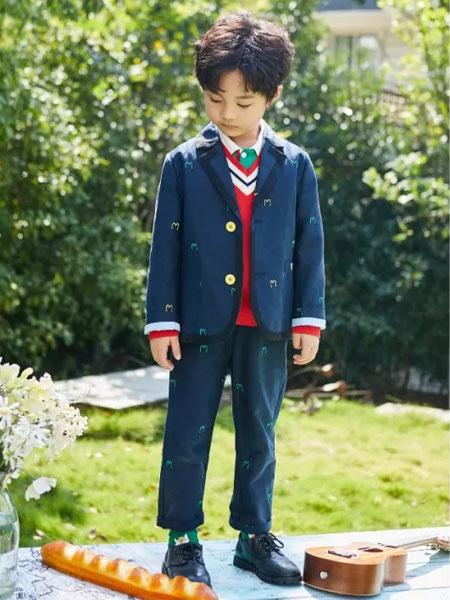 小资范童装品牌2020春夏新款男童气质气质套装