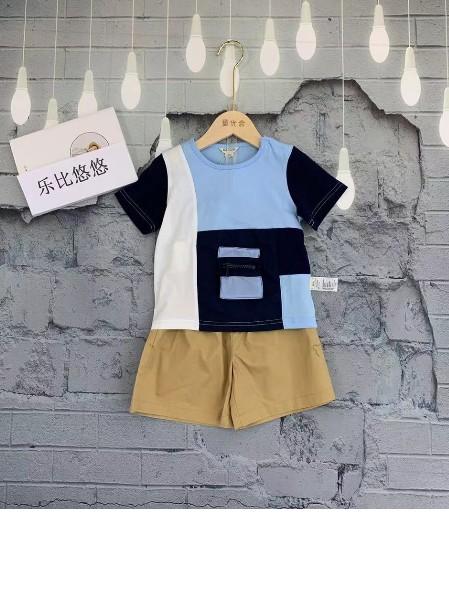 【乐比悠悠】夏季童装 日系时尚休闲系列品牌折扣童装批发
