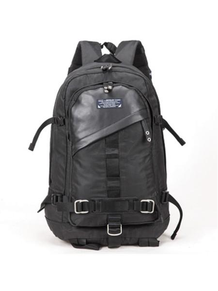 XLZOLO箱包品牌2020春夏新款纯色双肩包