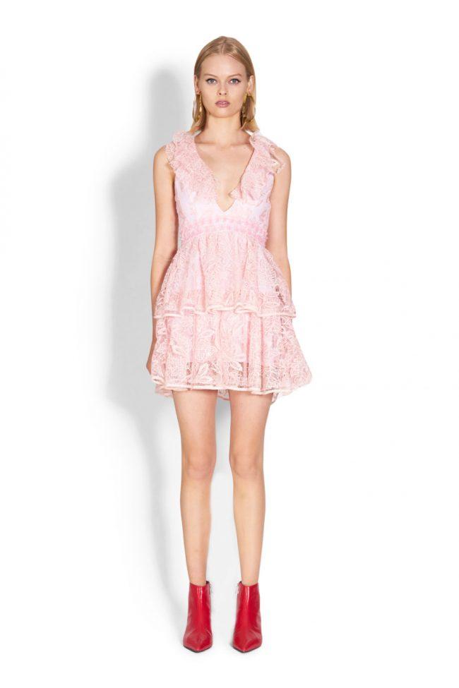 NICOLA FINETTI国际品牌品牌2020春夏新款纯色无袖吊带连衣裙