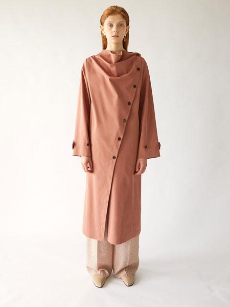 Fadeiin国际品牌品牌2020春夏牛颈棉风衣