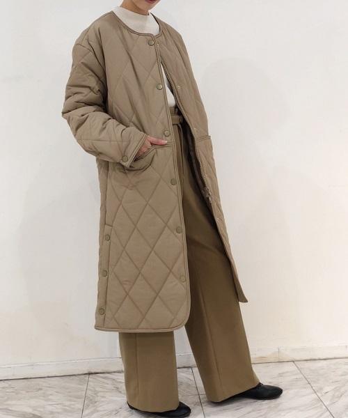 BANNER BARRETT国际品牌品牌2019秋冬新款薄棉长款大衣