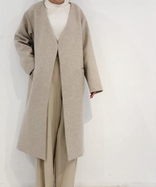 BANNER BARRETT国际品牌品牌2019秋冬新款纯色系带式大衣