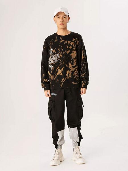 Jasonwood坚持我的服装品牌2020春夏新款迷彩花纹个性卫衣