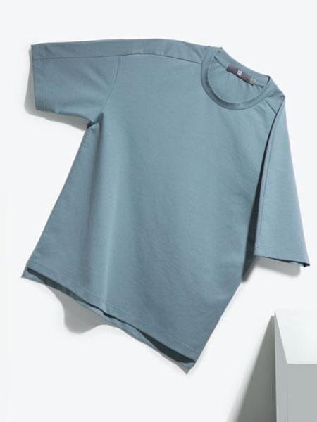 欧诺品牌男装中袖T恤