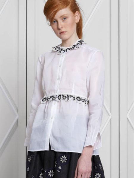 JUPE BY JACKIE国际品牌品牌2020春夏新款长袖波点透纱上衣