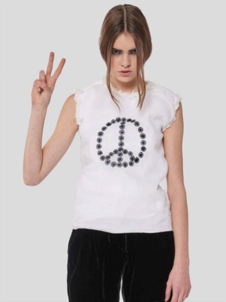 JUPE BY JACKIE国际品牌品牌2020春夏新款简洁无袖上衣
