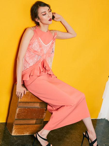 Motonari Ono国际品牌2020春夏新款无袖气质连衣裙