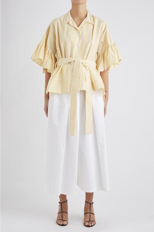 COTE���H品牌品牌2020春夏�l�y�r衫