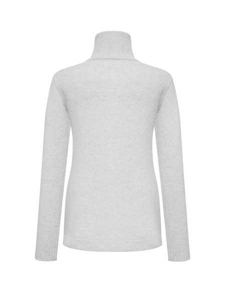 Olenich国际品牌品牌2019秋冬纯色高领针织毛衣
