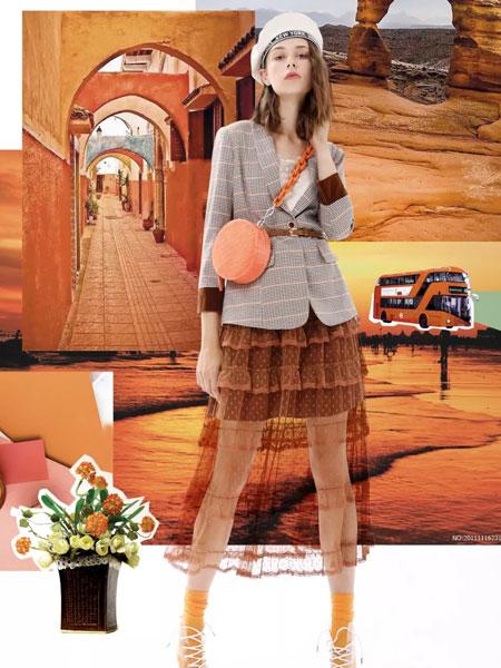 Meizhinv魅之女女装品牌2020春夏新款纯色格子西装小外套