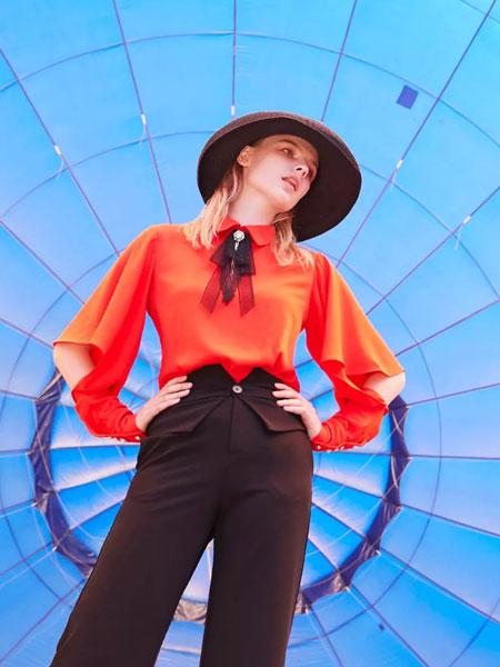 Meizhinv魅之女女装品牌2020春夏新款纯色气质上衣