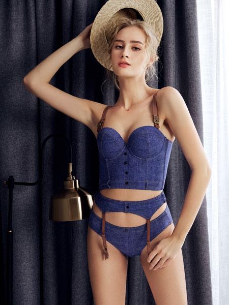 布迪·设计内衣品牌2020春夏新款纯色性感连体内衣