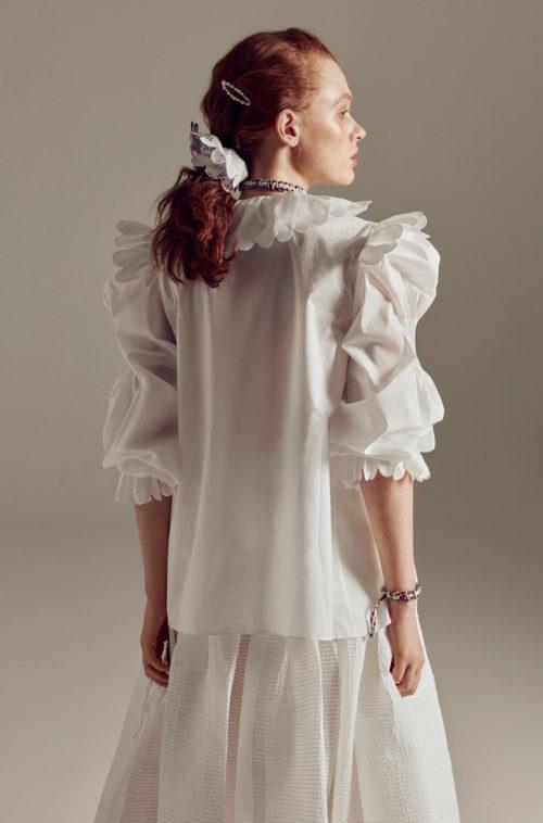 Horror Vacuis国际品牌品牌2020春夏鲁迪真丝半身裙