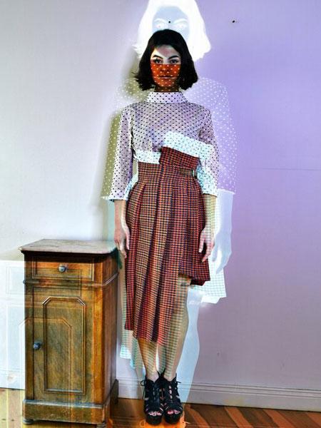 Remesalt国际品牌品牌2020春夏新款波点纯色气质连衣裙