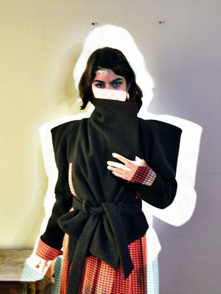 Remesalt国际品牌品牌2020春夏新款纯色高领气质上衣
