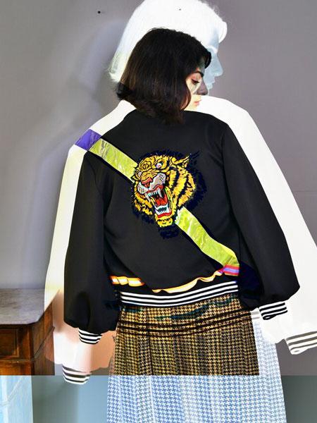 Remesalt国际品牌品牌2020春夏新款背后刺绣图案外套
