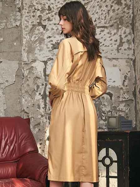 城市格调女装品牌2020春夏高冷御姐风连衣裙