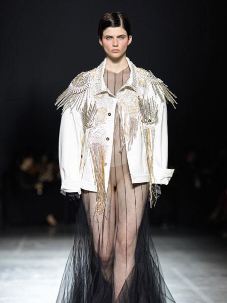 Frolov国际品牌品牌2020春夏落地网裙