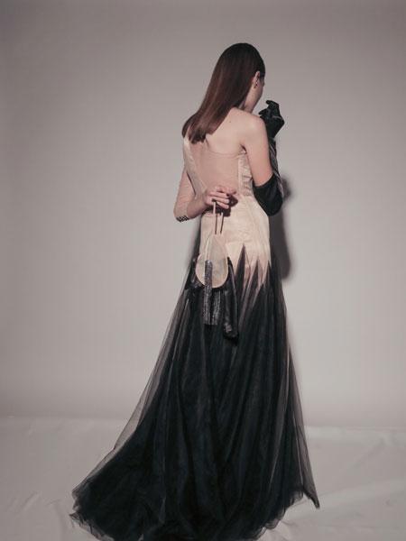 Frolov国际品牌品牌2020春夏一袖网裙