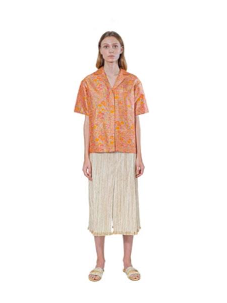 Janesuda国际品牌品牌2020春夏真丝上衣