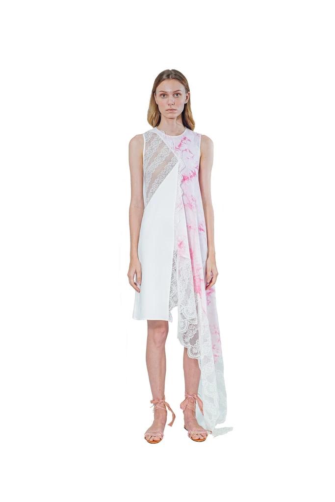 Janesuda国际品牌品牌2020春夏扎染连衣裙