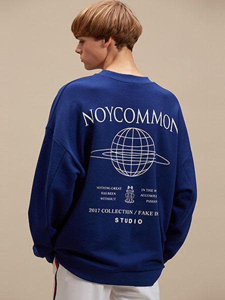 NOYCOMMON国际品牌品牌2020春夏背后图案个性卫衣